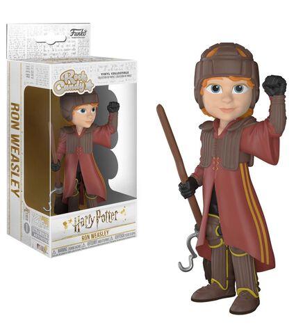 Figurine Rock Candy - Harry Potter - Ron Avec Uniforme De Quidditch