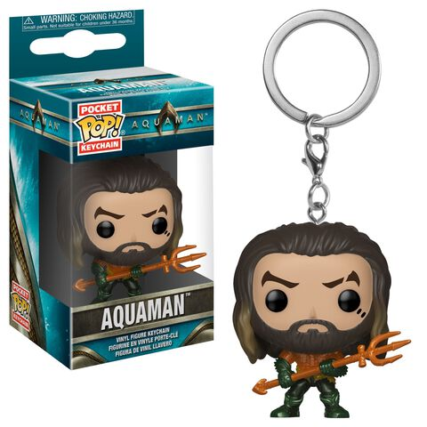 Porte-cles - Aquaman - Pop Aquaman