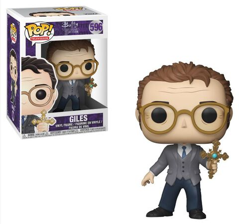 Figurine Funko Pop! N°596 - Buffy Contre Les Vampires - Giles