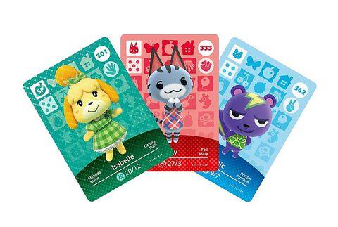 Cartes Amiibo Animal Crossing 4