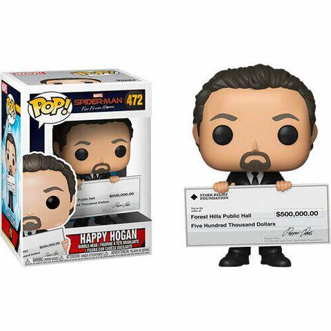 Figurine Funko Pop! N°472 - Spider-Man : Far From Home - Happy Hogan