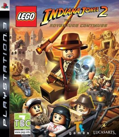 Lego Indiana Jones 2, L'aventure Continue