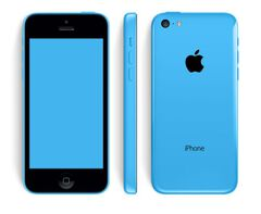 Iphone 5c 16gb Bouygues Bleu / Comme Neuf