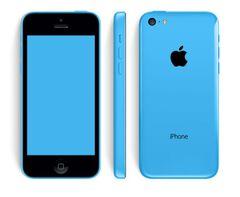Iphone 5c 32gb Orange Bleu / Comme Neuf