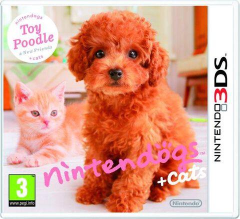 Nintendogs + Cats : Caniche Nain & Ses Nouveaux Amis