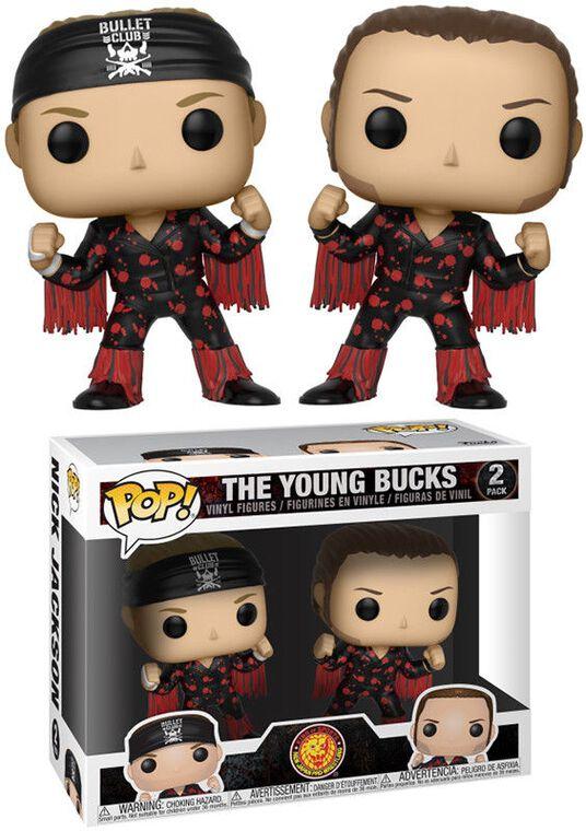 Figurine Funko Pop! - Wrestling - Bullet Club Twin Pack Young Bucks