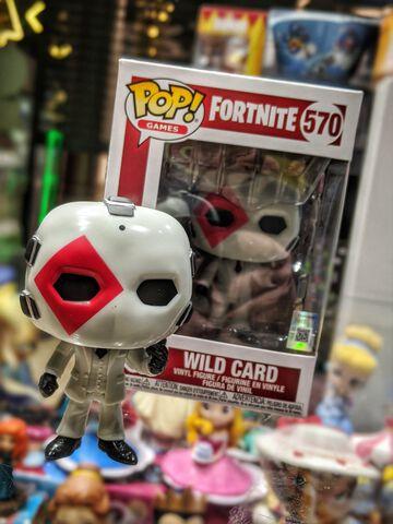 Figurine Funko Pop! N°570 - Fortnite - S4 Wild Card