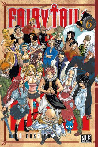 Manga - Fairy Tail - Tome 06
