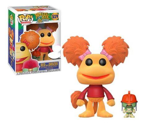 Figurine Funko Pop! N°519 - Fraggle Rock - Red Avec Doozer Flocked