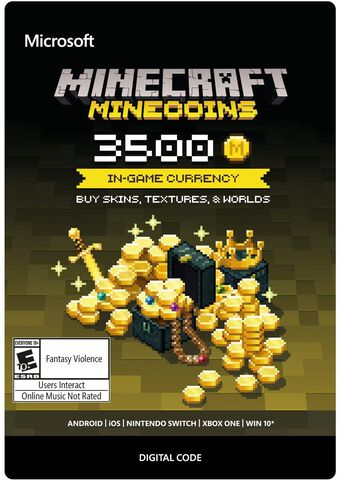 Minecraft - DLC - Minecoins Pack:  3500 Coins - Version digitale