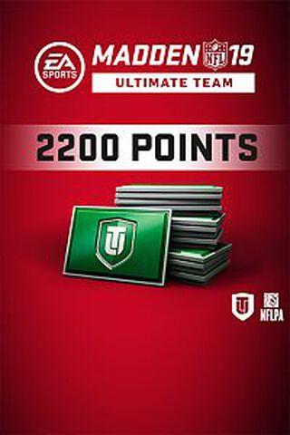 Madden NFL 19 Ultimate Team 2200 Points - Version digitale