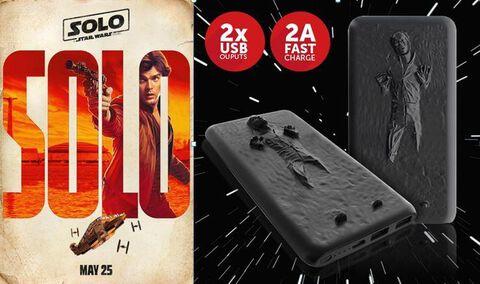 Power Bank - Star Wars - Han Solo 3D - 8000 mAh