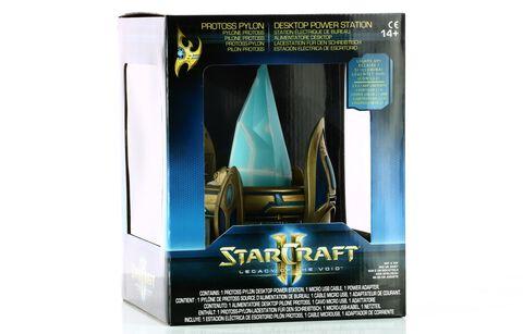 Lampe - Starcraft II - Chargeur USB Protoss