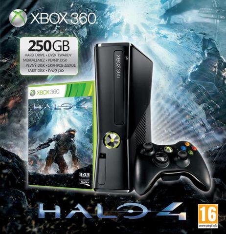 Pack Xbox 360 250 Go + Halo 4