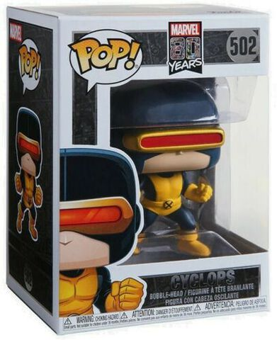 Figurine Funko Pop! N°502 - Marvel 80th : First Appearance - Cyclops