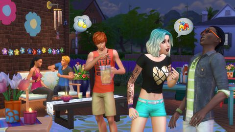 Les Sims 4 - DLC - Kit d'objets en plein air - Version digitale