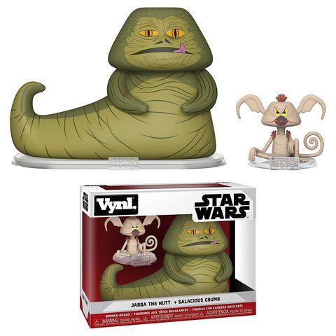 """Figurine Vynl - Star Wars - Twin Pack Jabba et Salacious Crumb 4"""""""