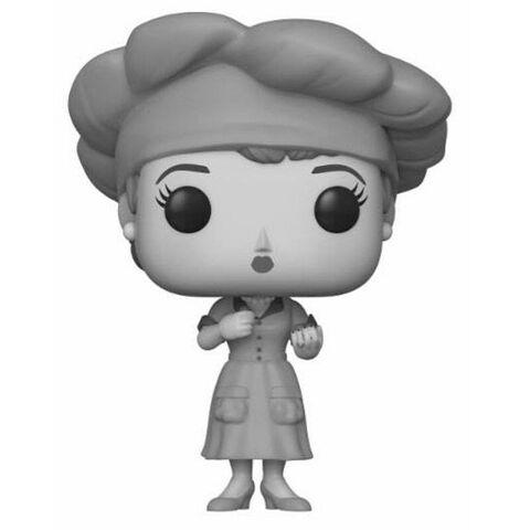 Figurine Funko Pop! N°656 - I Love Lucy - Lucy de la fabrique en noir et blanc