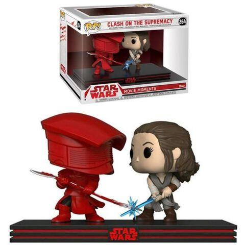 Figurine Funko Pop! N°264 - Star Wars - Combat Rey et Guarde Prétorien