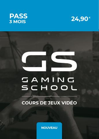 Abonnement Gaming School 3 mois