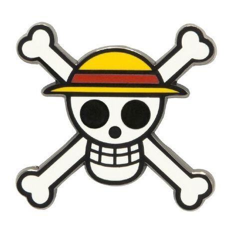 Badge - One Piece - Pin's Skull