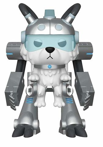Figurine Funko Pop! N°569 - Rick et Morty - S6 Snowball dans costume Méca - 15 cm