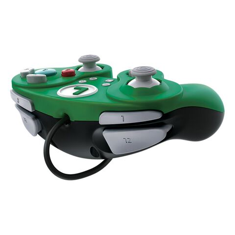 Manette Filaire Fight Pad Pro Luigi Licence Nintendo