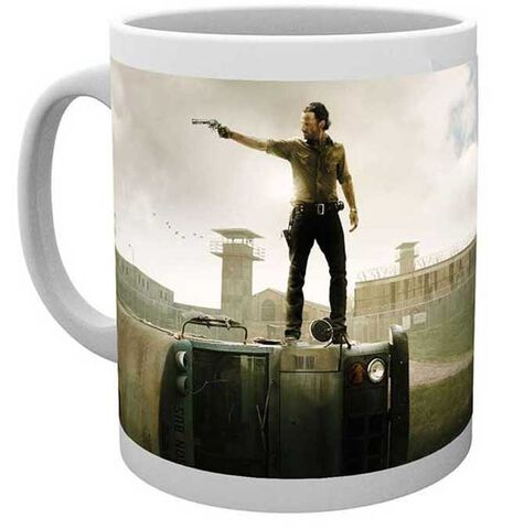 Mug - Walking Dead - Rick Bus Prison