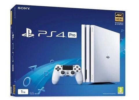 Playstation 4 Pro 1to Blanc Glacier