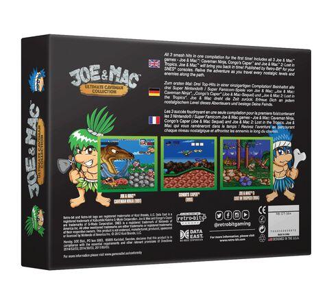 Joe&mac Ultimate Caveman Collection Super Nes Retro-bit