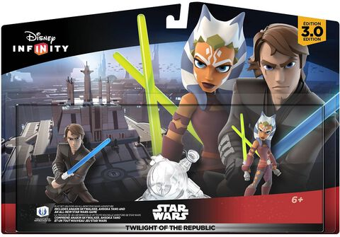 Disney Infinity 3.0 Pack Aventure Star Wars Twilight of The Republic