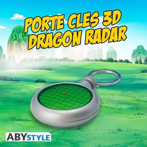 Porte-clés - Dragon Ball - Premium Radar 3D