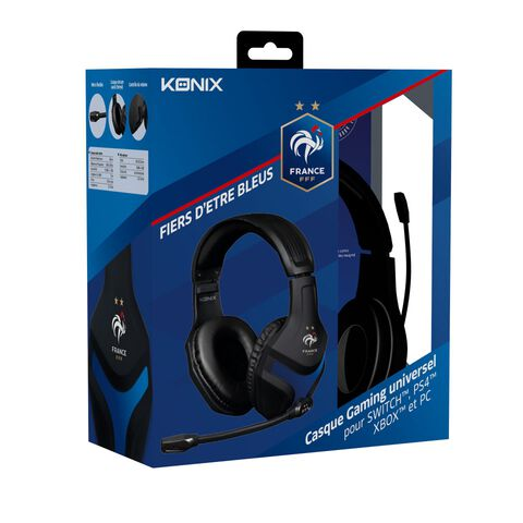 Casque Konix Ps400 Fff Ps4/x1/switch