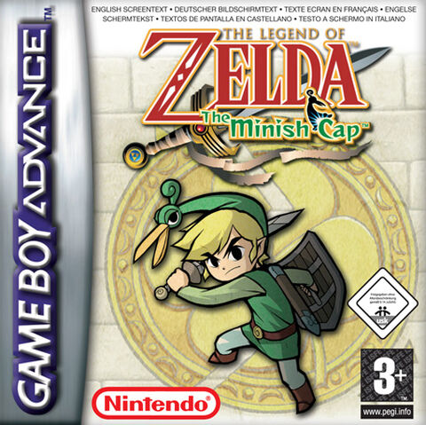 The Legend of Zelda The Minish Cap (GBA)