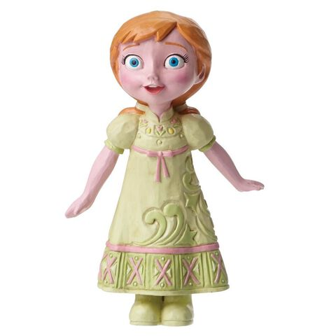 Statuette - La Reine Des Neiges - Disney Traditions - Anna Enfant