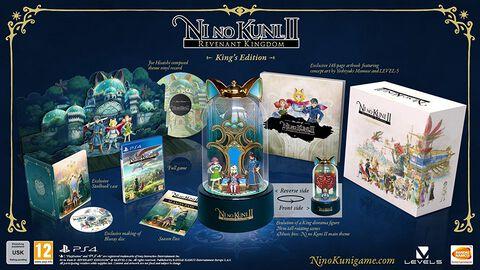 Ni No Kuni L'avènement D'un Royaume King's Edition
