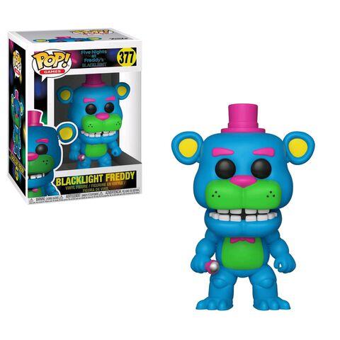 Figurine Funko Pop! N°377 - Five Nights at Freddy's - Blacklight Freddy