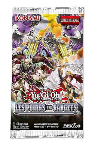 Booster - Yu-gi-oh! - Les Poings Des Gadgets  Blister