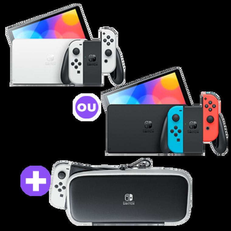 Pack de transport Nintendo SWITCH OLED
