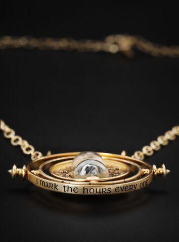 Réplique - Harry Potter - Retourneur de temps (argent plaqué or)