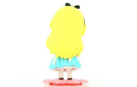Figurine Q Posket Sweetiny - Alice Aux Pays Des Merveilles - Alice Milky Color