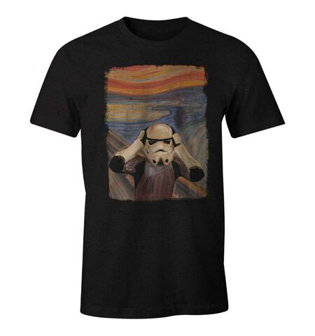T-shirt - Star Wars - Original Stormtrooper Le Cri Munch - Taille L