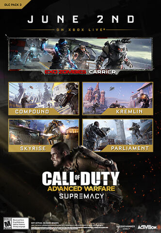 Dlc Call Of Duty Advanced Warfare Supremacy Ps3-ps4