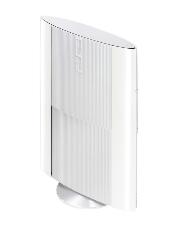 PS3 500 Go Blanche