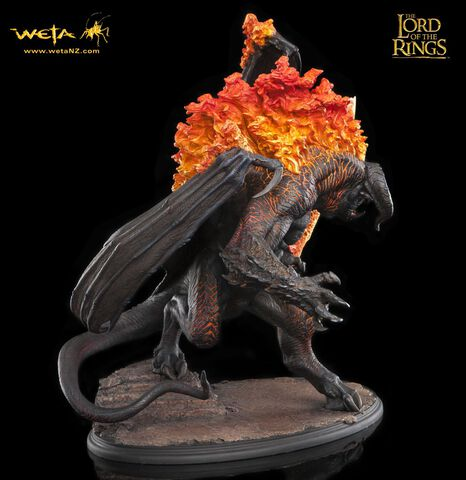 code de promo coût modéré Livraison gratuite dans le monde entier Statuette - Le Seigneur Des Anneaux - The Balrog 52 Cm