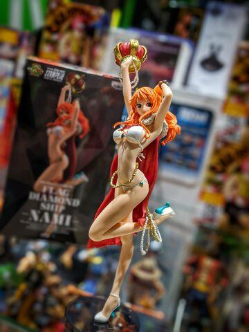 Figurine Movie Flag Diamond Ship - One Piece Stampede - Nami