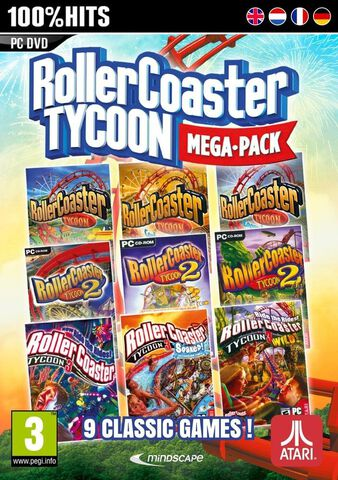 Roller Coaster Tycoon  9 Mega Classic Games