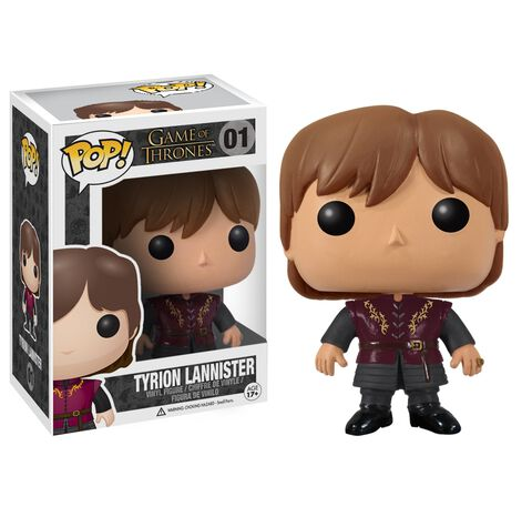 Figurine Funko Pop! N°01 - Game of Thrones - Tyrion Lannister