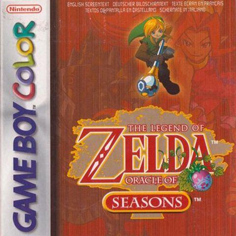 The Legend of Zelda Oracle of Seasons (GBC)