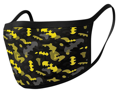 Masque - Dc Comics - Batman Camo Yellow - Lot De 2